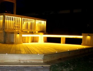 Aurora Deck Lighting - Outdoor Lighting for Your Deck